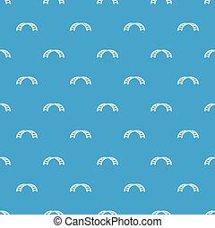Climbing stairs on a playground pattern seamless blue