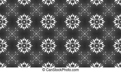 Abstract background with kaleidoscope. 3d rendered