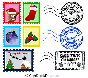 Christmas Postmarks and Stamps - Beautiful Collections of...
