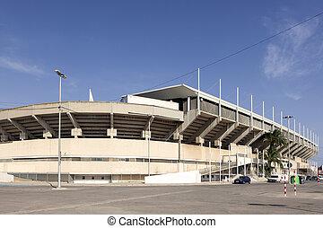 Stadium in Cartagena, province of Murcia, Spain -...
