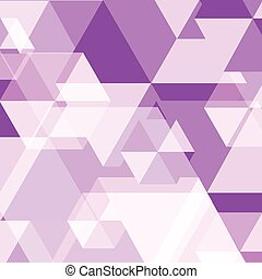 Violet polygon created abstract background, stock vector