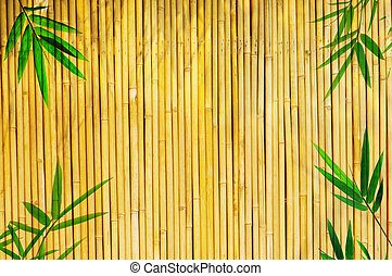Light Golden bamboo Background great for any project. frame...