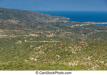 Amazing landscape of Sithonia peninsula, Chalkidiki, Central...