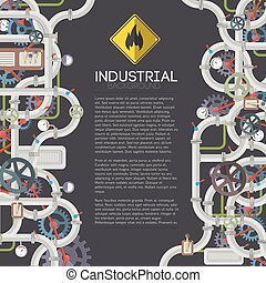 Industrial Mechanical Background
