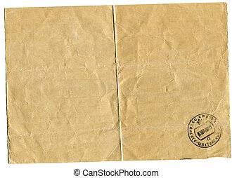 downside telegram bearing the stamp of post office -...