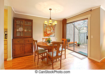 Dining area - Nicely furnished dining area in the...
