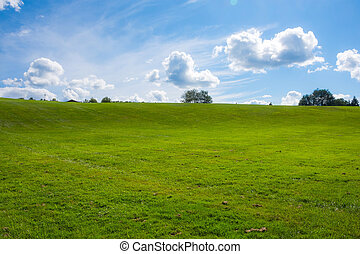Bowl of Woodstock - Looking up the bowl area of the...
