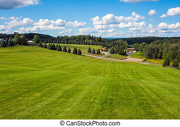 Hilltop Woodstock View - A view from the top of the hill of...