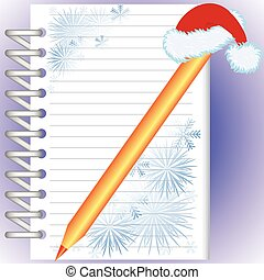 New Year's notebook