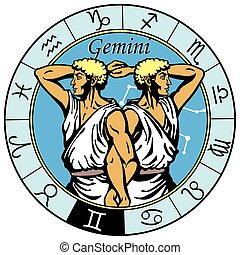 gemini astrological zodiac sign