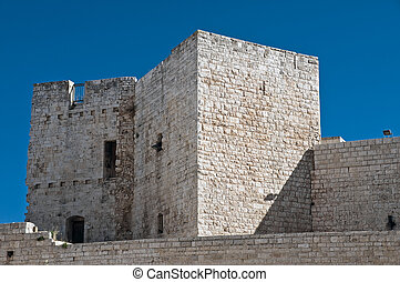 Norman- Swabian Castle Sannicandro di Bari Apulia