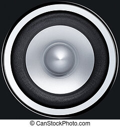 Sound speaker - Stereo music audio equipment bass sound...