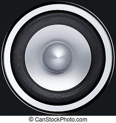 Sound speaker - Stereo music audio equipment bass sound...