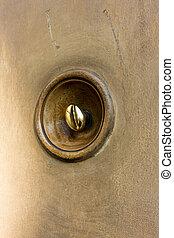 """Ancient """"Tiro"""" Bolognese door bell"""