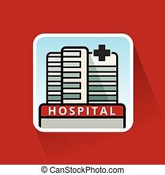 Large Hospital Building - Large Modern Hospital Building...