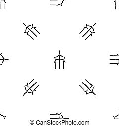 Windmill pattern seamless black - Windmill pattern repeat...