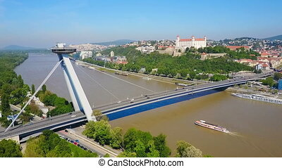 SNP New bridge, Bratislava - Most SNP new bridge or UFO...