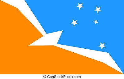 Tierra_del_Fuego - Tierra Del Fuego Argentine flag