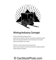 Mountain Mine Poster