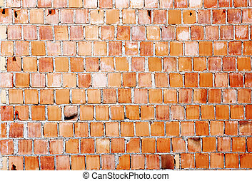 Brick wall - Abstract background - brick wall