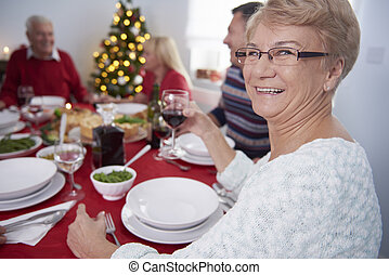 Grandmother as the head of the whole family