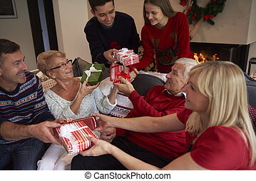 The time to give a present
