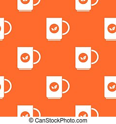 Cup of tea pattern seamless - Cup of tea pattern repeat...