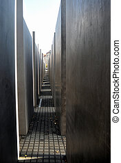 Holocaust memorial, Berlin - Holocaust Memorial to the...
