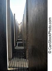 Holocaust memorial, Berlin - Holocaust Memorial to the...