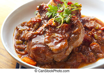 Osso Buco - Classic osso buco. Veal shanks slow cooked with...