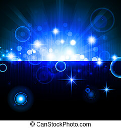 bright background - bright night background with stars and...