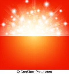 bright background with stars and lights