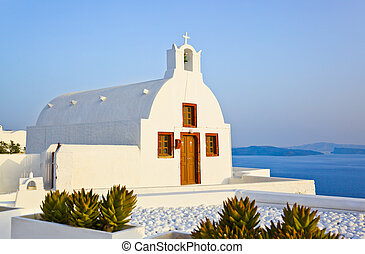 Santorini church (Oia), Greece