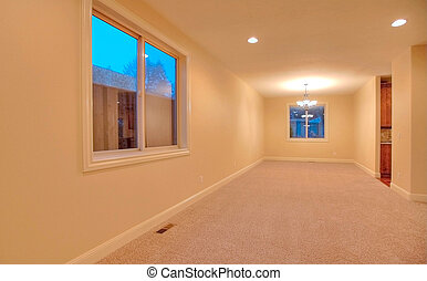 Empty room - Large empty room. Nice home near Lakewood, WA....