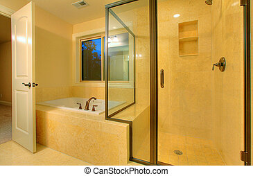 Shower in a top quality bathroom - Top quality bathroom in a...