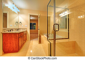 Bathroom with shower - Top quality bathroom in a Nice home...