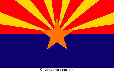 Arizona USA flag