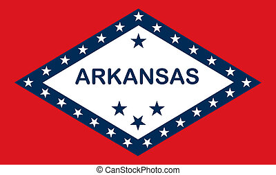 Arkansas (USA) flag