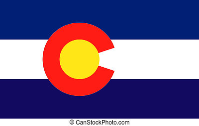 Colorado USA flag