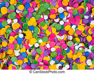 Confetti background - Colorful confetti texture - abstract...