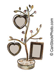 Wrought tree with frames