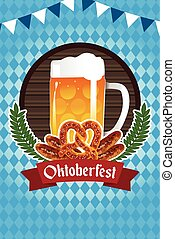 Oktoberfest Poster - A vector illustration of Oktoberfest...