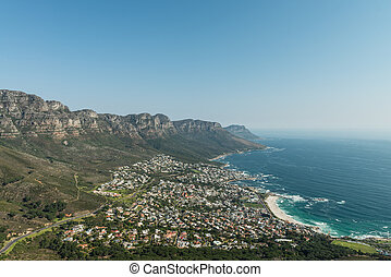 Cape Town Panorama - Great shot of Cape Town (South Africa)