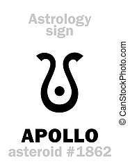 Astrology: asteroid APOLLO - Astrology Alphabet: APOLLO...