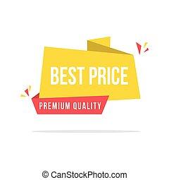 Best sale price yellow background