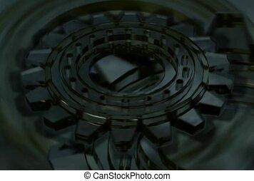 dark, rotate, wheel
