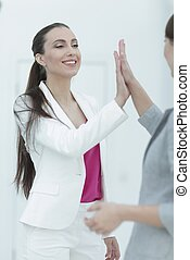 portrait of a successful female Manager - business...