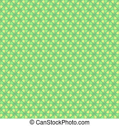 Abstract multicolored illustration. Seamless pattern. Yellow green mosaic background texture