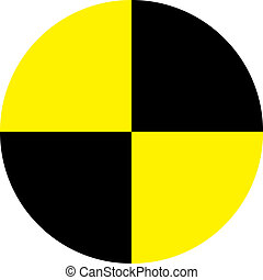Crash Test Dummy - The symbol used for danger and placed on...