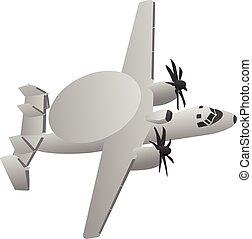 Military Early Warning Radar Aircraft